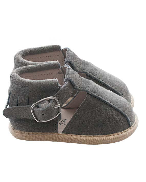 Baby sandalen moccasins echt leer