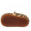 onderkant baby moccasins rubberen zool tijgerprint